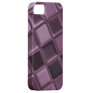 Caja sofisticada de encargo púrpura del iPhone 5 iPhone 5 Funda