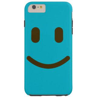 Caja sonriente del teléfono 6 de la cara i funda de iPhone 6 plus tough