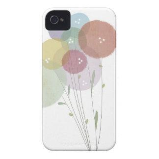 Caja suave del iphone de los colores en colores funda para iPhone 4 de Case-Mate