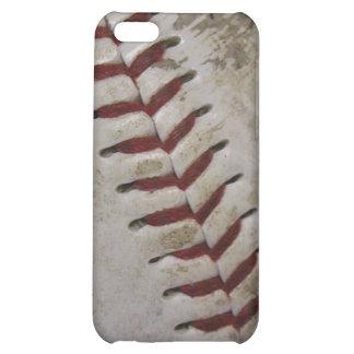Caja sucia de la mota del iPhone 4 del béisbol