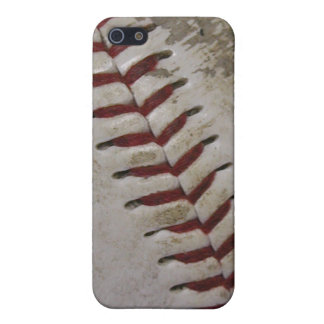 Caja sucia de la mota del iPhone 4 del béisbol iPhone 5 Protectores