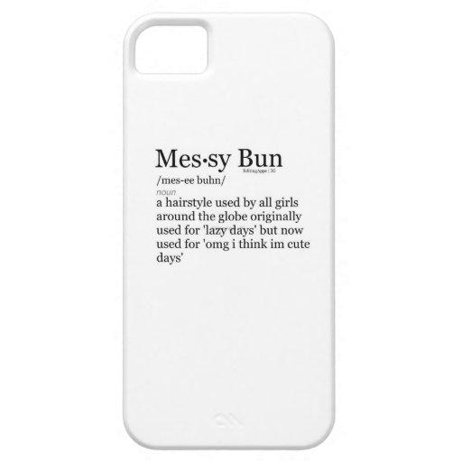 Caja sucia del teléfono del bollo iPhone 5 Case-Mate coberturas