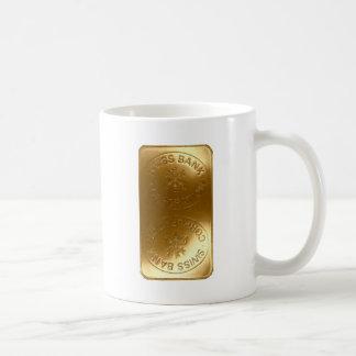 caja suiza de la barra de oro del banco iPhone5 Taza De Café