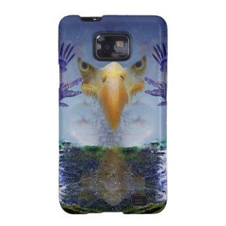 Caja surrealista de la galaxia S2 de Eagle Samsung Funda Para Samsung Galaxy SII