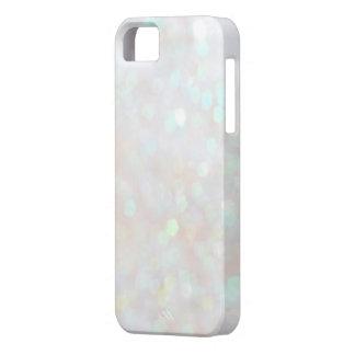 Caja sutil blanca del iPhone 5s del brillo de la iPhone 5 Case-Mate Cárcasa
