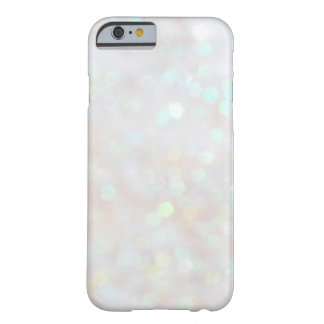 Caja sutil blanca del iPhone 6 del brillo de la Funda De iPhone 6 Barely There