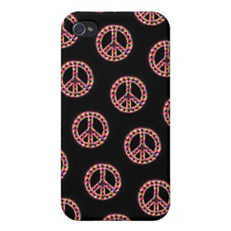 caja tejada 5-Color de IPhone 4 de la paz iPhone 4 Cobertura