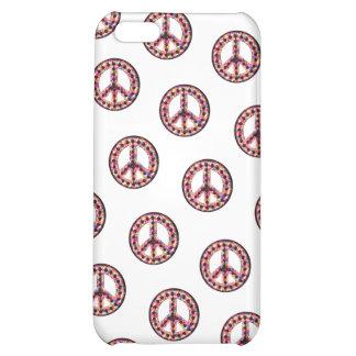 caja tejada 5-Color de IPhone 4 de la paz