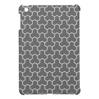Caja tejada Tri Maleficio del cojín del gris de