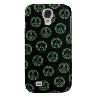 Caja tejada verde de IPhone 3 de la paz