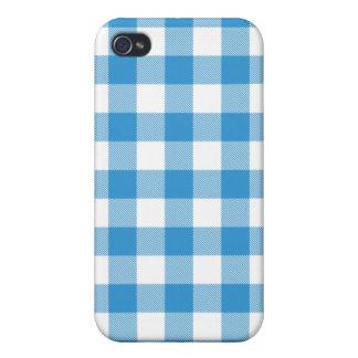 Caja tejida azul de Iphone 4 de la guinga del iPhone 4 Funda