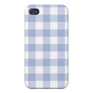 Caja tejida lavanda de Iphone 4 de la guinga iPhone 4/4S Fundas