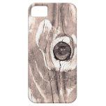 Caja texturizada madera del iPhone 5 iPhone 5 Carcasa