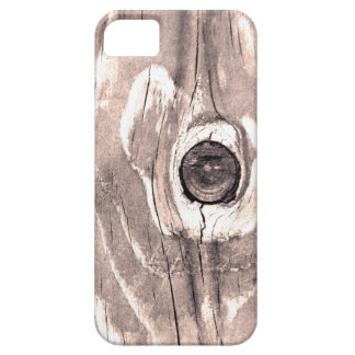 Caja texturizada madera del iPhone 5 iPhone 5 Fundas