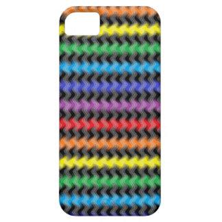 Caja torcida del iPhone de los colores iPhone 5 Carcasa