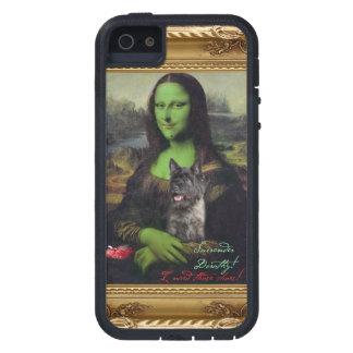 Caja traviesa del teléfono de la bruja de Mona Lis iPhone 5 Case-Mate Cárcasa