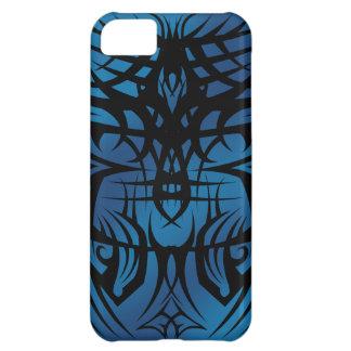 caja tribal azul del iPhone 5