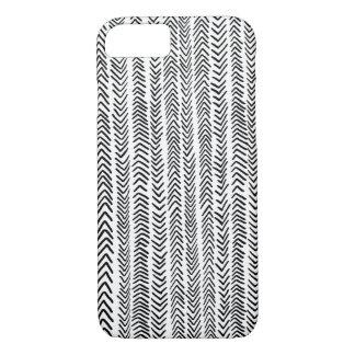 Caja tribal blanca negra del iPhone 7 del modelo Funda iPhone 7