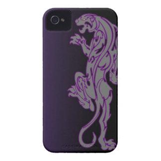 caja tribal del teléfono de la pantera del león iPhone 4 Case-Mate carcasa