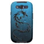 caja tribal del teléfono del dragón galaxy SIII cobertura