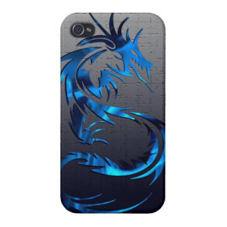 caja tribal del teléfono del dragón iPhone 4/4S carcasa