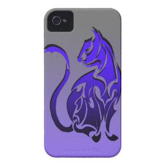 caja tribal del teléfono del gato funda para iPhone 4 de Case-Mate