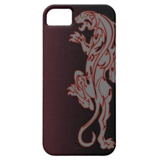 caja tribal del teléfono del león del tigre iPhone 5 fundas