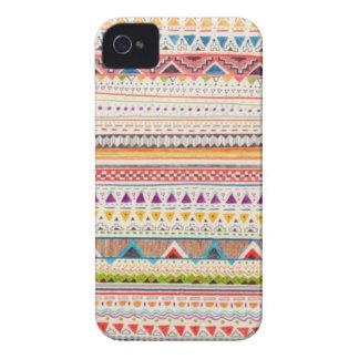 Caja tribal del teléfono Case-Mate iPhone 4 fundas
