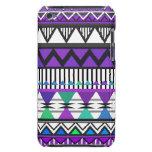 Caja tribal púrpura del tacto de iPod de 2 modelos Barely There iPod Coberturas