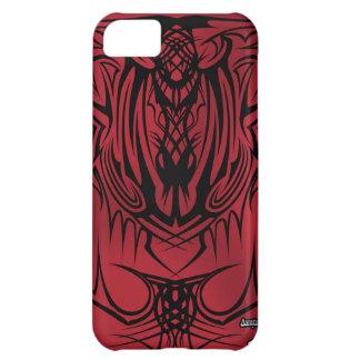 caja tribal roja del iPhone 5