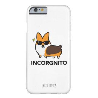 Caja tricolora del teléfono del Corgi de Funda Barely There iPhone 6