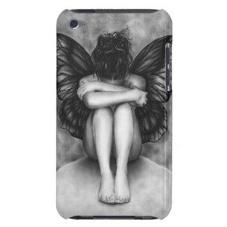Caja triste de iPod del chica de la mariposa iPod Case-Mate Protector