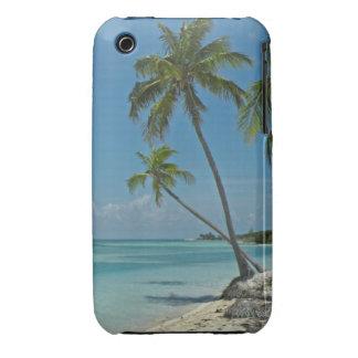 Caja tropical de la casamata de la playa iPhone3 iPhone 3 Case-Mate Cárcasa