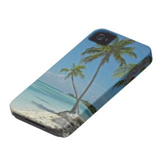 Caja tropical de la casamata de la playa iPhone4 iPhone 4 Case-Mate Fundas