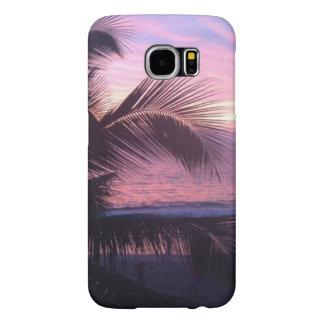 Caja tropical de la galaxia S6 de Samsung de la Funda Samsung Galaxy S6