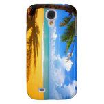 Caja tropical de la playa de HD para la galaxia S4