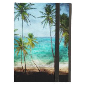 Caja tropical del aire del iPad de la playa