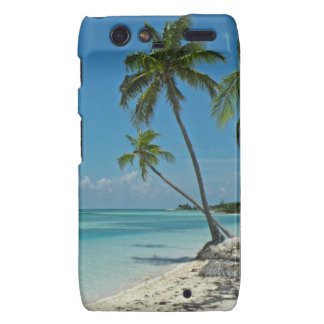 Caja tropical del teléfono de Droid de la playa de Motorola Droid RAZR Funda