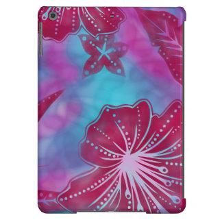 Caja tropical hawaiana del aire del iPad del batik Funda Para iPad Air