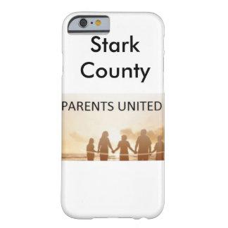 Caja unida padres del teléfono del condado de funda barely there iPhone 6