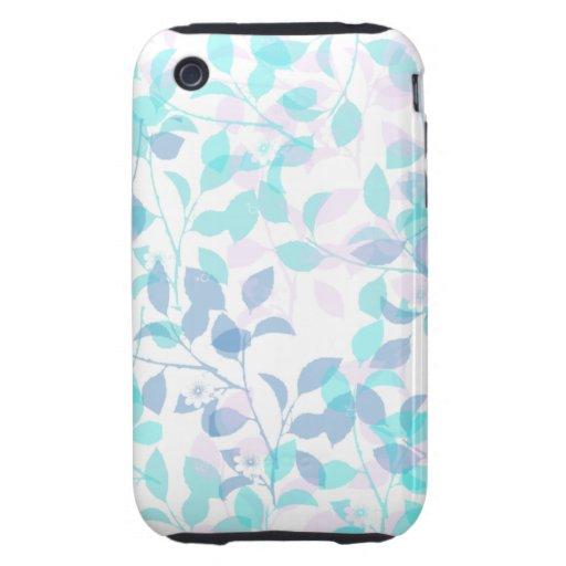 Caja universal del teléfono de la casamata floral iPhone 3 tough carcasas