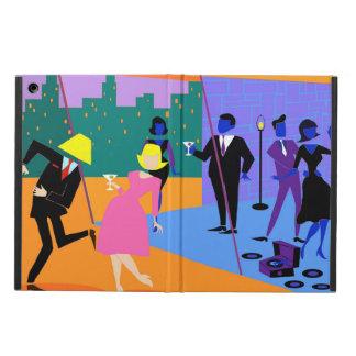 Caja urbana retra del aire del iPad del fiesta del