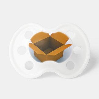 Caja vacía de Digitaces Chupetes Para Bebes