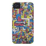 Caja vacía maya del teléfono Case-Mate iPhone 4 protectores