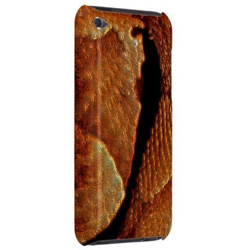 Caja venenosa del teléfono de la fauna de la serpi iPod touch Case-Mate carcasa