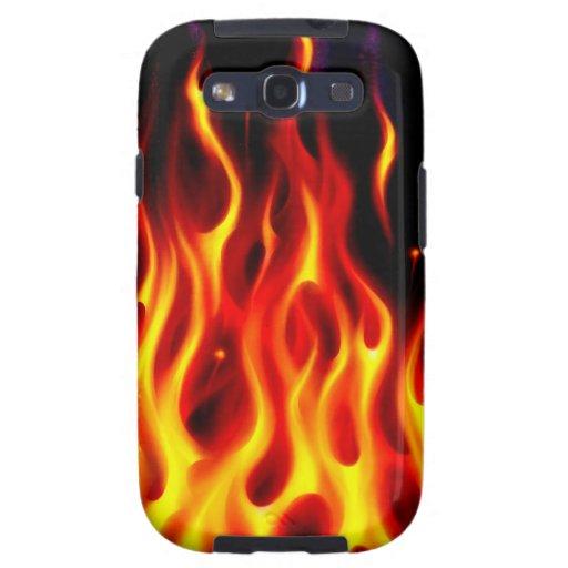 Caja verdadera de la galaxia S de Samsung del fueg Galaxy S3 Protectores