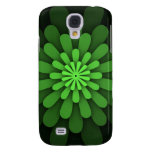 Caja verde abstracta del iPhone 3G
