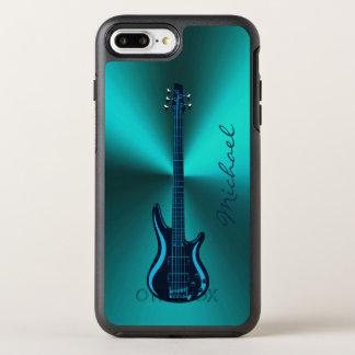 Caja verde azul marino de Otterbox de la guitarra Funda OtterBox Symmetry Para iPhone 7 Plus