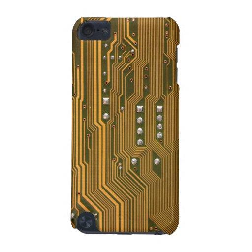 Caja verde beige de iPod de la textura 2 de la pla