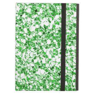 Caja verde clara del aire del iPad del brillo